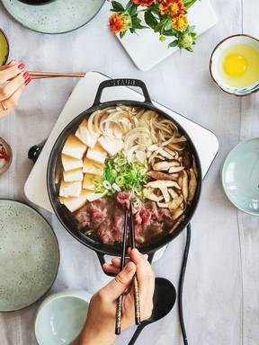 Hotpot in Hurry: Get to Know Sukiyaki