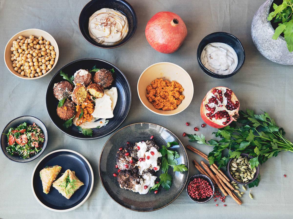 就这样爱上以色列美食