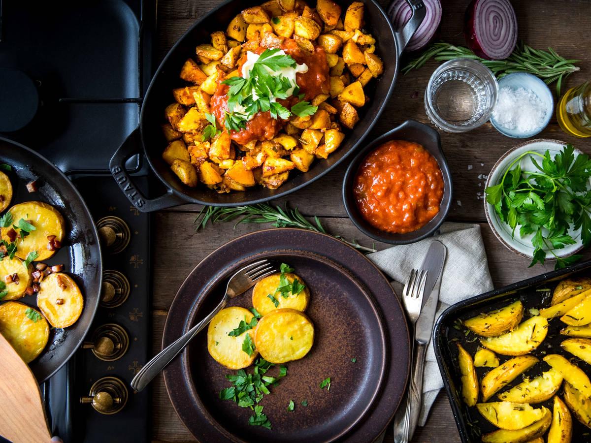 How to Make Perfect Crispy Potatoes at Home