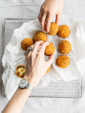 Arancini or, The Best Way to Use Up Leftover Risotto