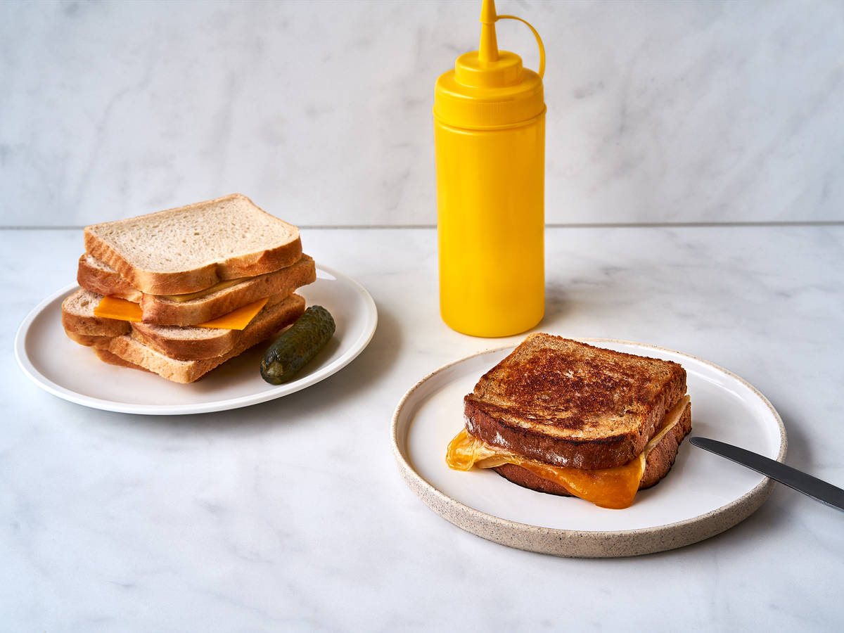 How to Make a Perfectly Golden Grilled Cheese Sandwich