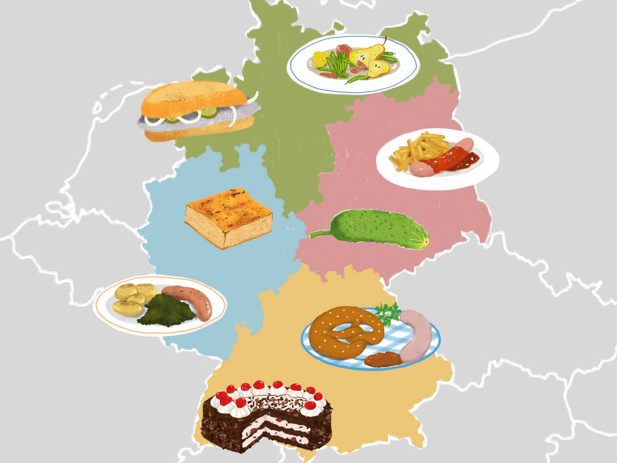 A Culinary Journey Through Germany in 32 Recipes