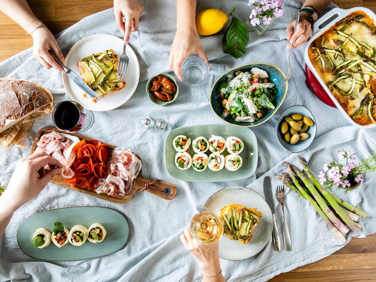 3 frische Rezepte für einen italienisch-inspirierten Brunch