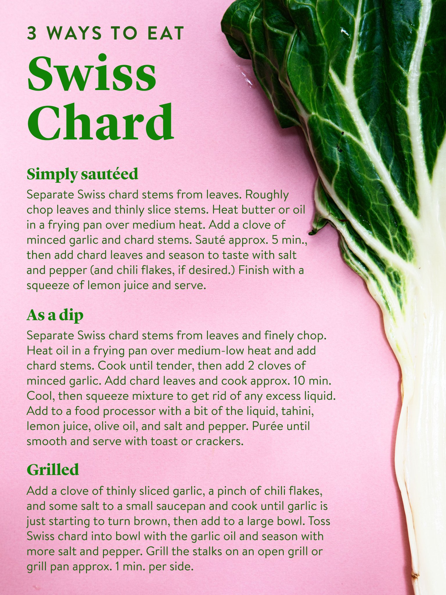 Everything To Know About In Season Swiss Chard Kitchen Stories