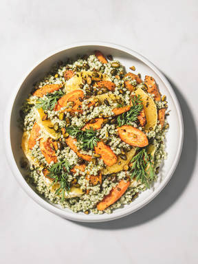 Rezepte im Rampenlicht: Ein Zero-Waste-Salat mit nur 5 Zutaten