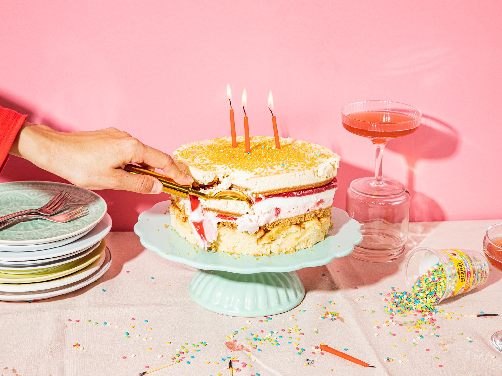 Phenomenal 22 Spectacular Birthday Cake Recipes Kitchen Stories Funny Birthday Cards Online Alyptdamsfinfo