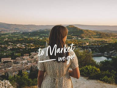 To Market—We Go! Provence
