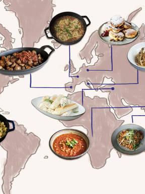 十道红遍全球的经典美食