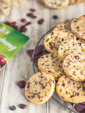 Beeren-Cookies
