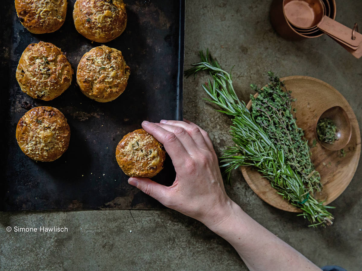 Savory Herb & Cheese Scones