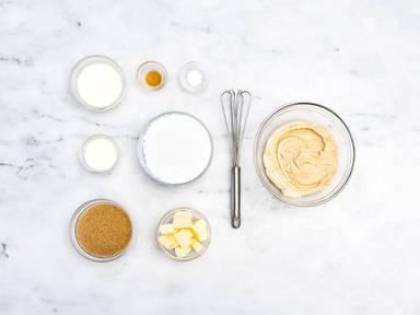 Homemade caramel frosting