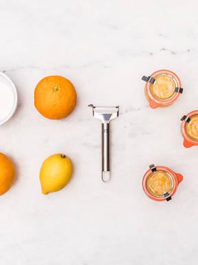 自制橙子果酱