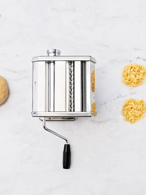 How to roll out pasta dough