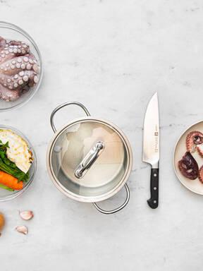 Oktopus richtig kochen