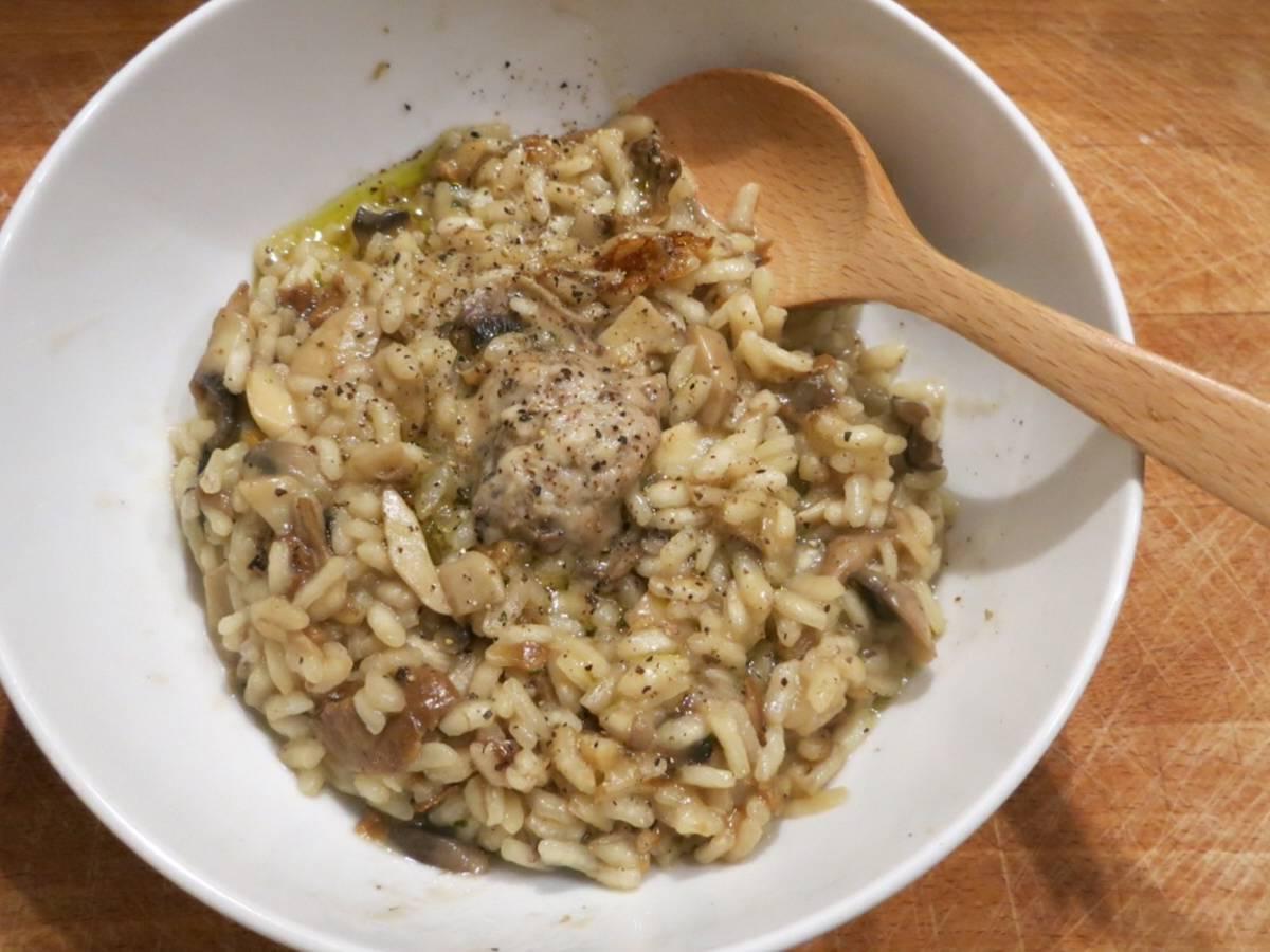 意大利牛肝菌炖饭