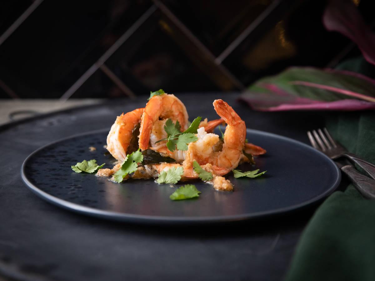 Sambal goreng udang (Indonesian sambal shrimp)