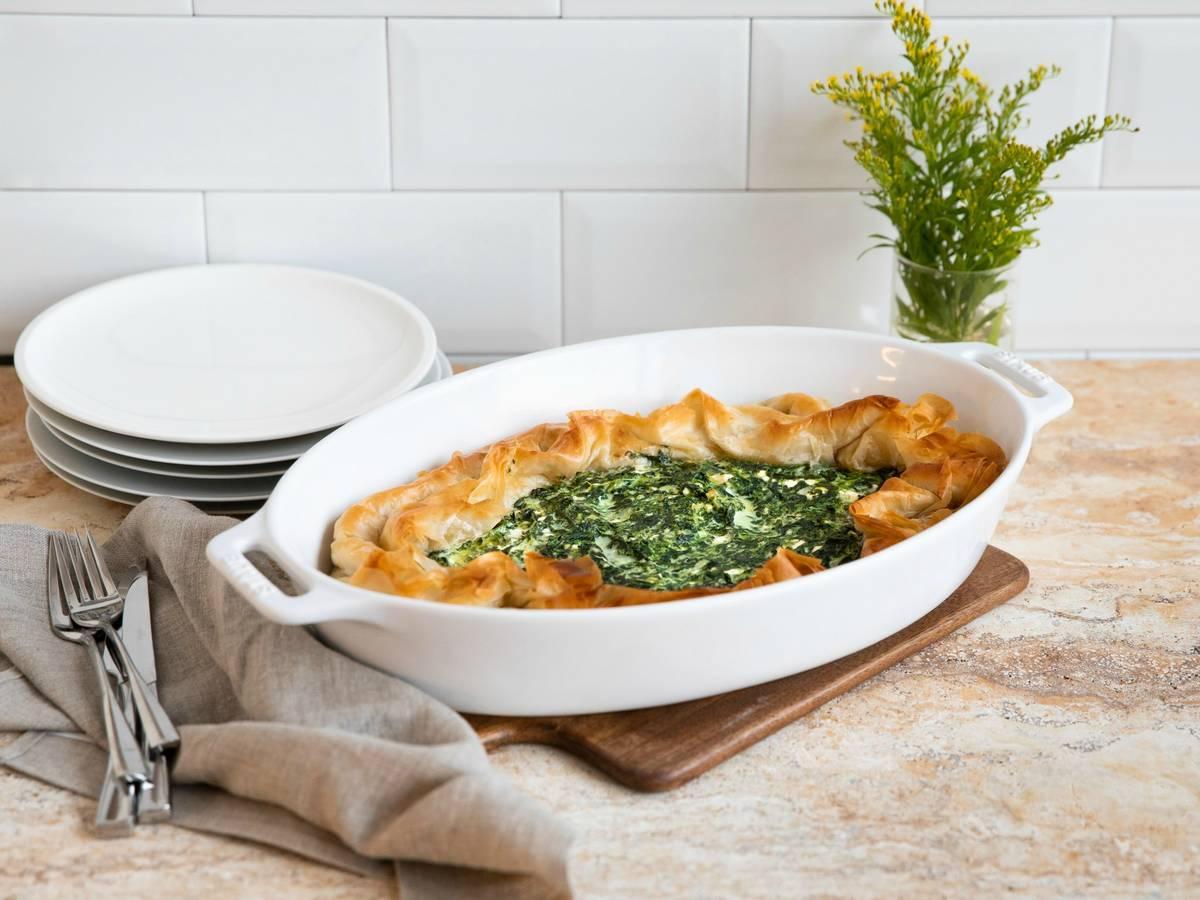 Spanakopita (Griechischer Spinat-Pie)