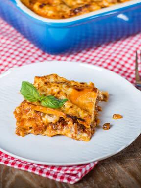 Easy Italian lasagna
