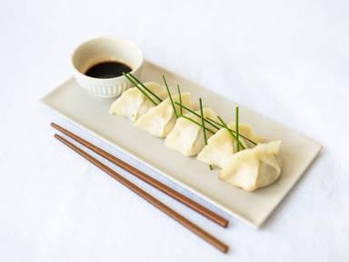Garnelen-Dumplings