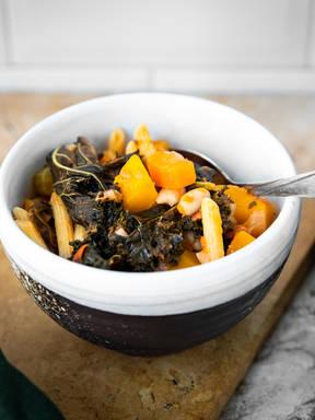 冬季意式蔬菜浓汤