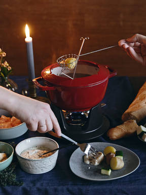 Broth fondue