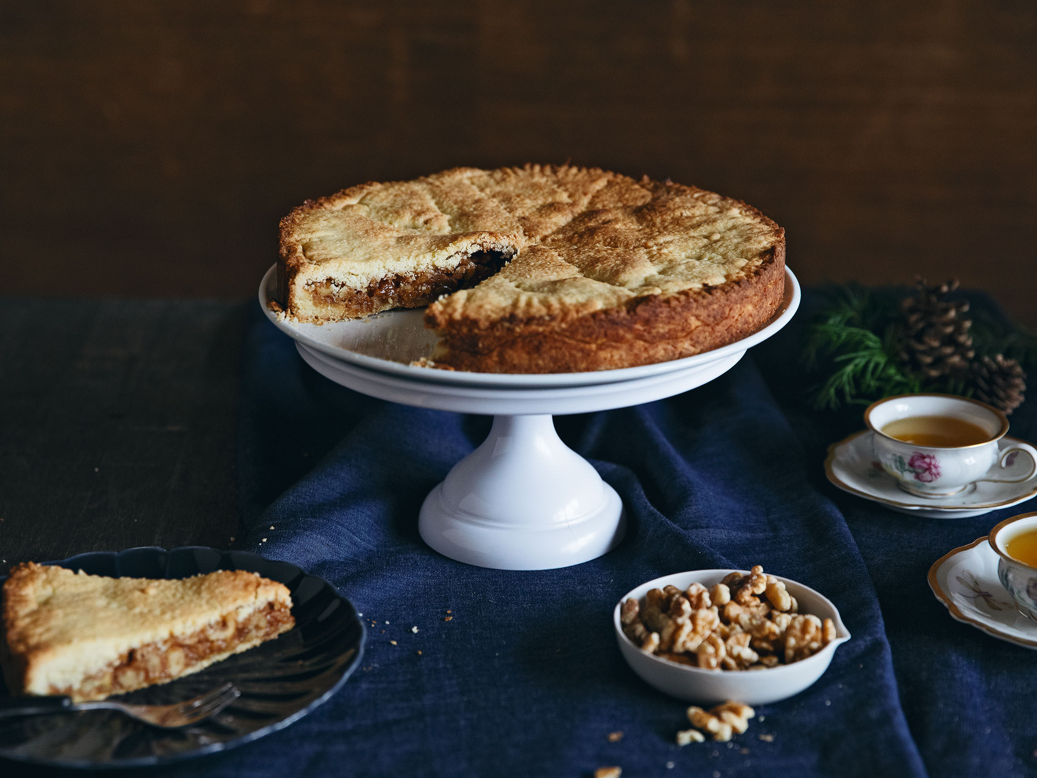 B 252 Ndner Nusstorte Swiss Walnut Cake Recipe With Video
