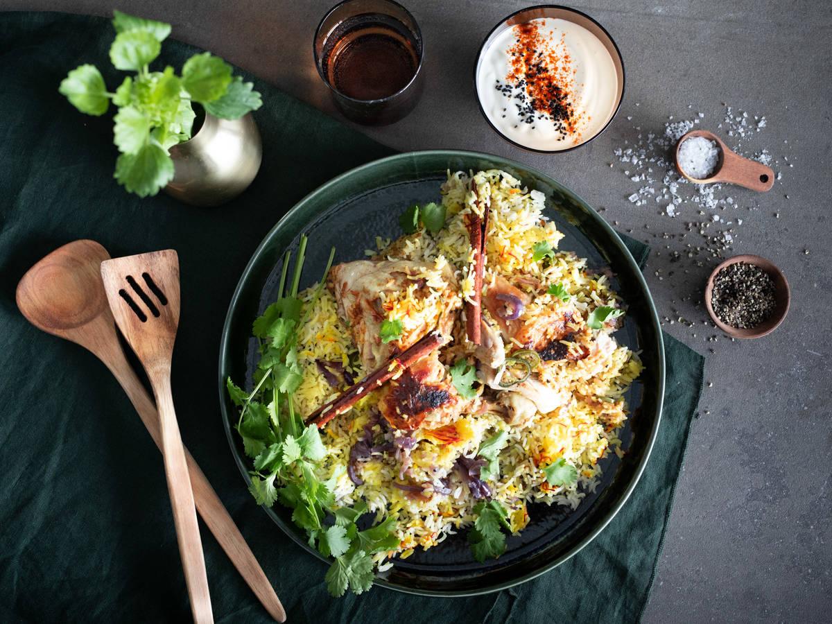 印度鸡肉香饭