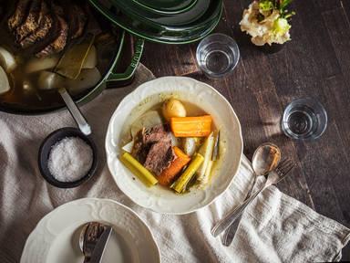 Pot au feu (French beef stew)
