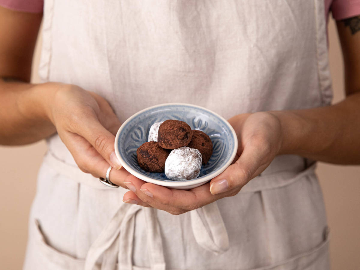 三料朗姆巧克力球