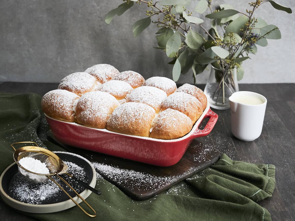 Buchteln (Austrian sweet rolls)