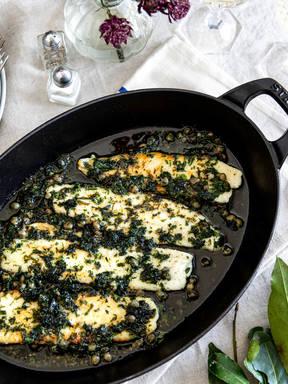 法式黄油香煎龙利鱼