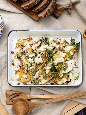 Sommerlicher Salat vom Grill