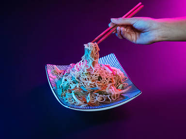 Vegetable chow mein