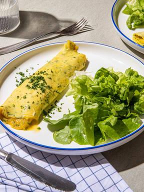 Französisches Omelett