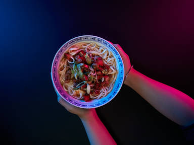 Shanghai hot sauce noodles (La jiang mian)