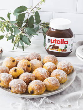 Kürbisbällchen mit nutella®