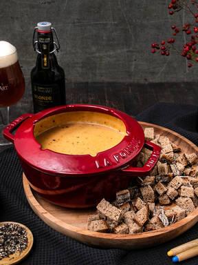 Bier-Käse-Fondue