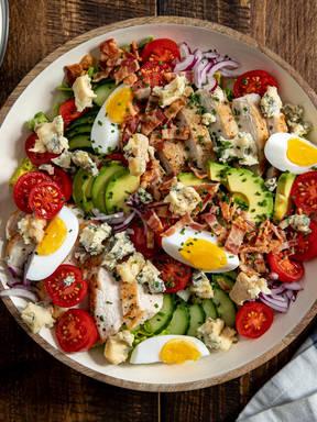 Cobb Salad (Amerikanischer gemischter Salat)