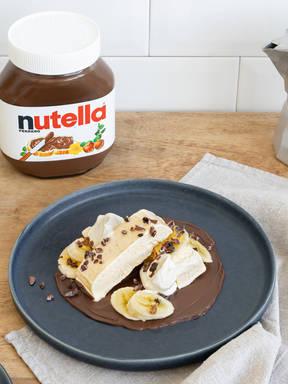 Vanilleparfait mit nutella®