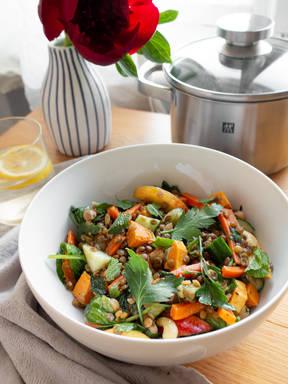 Xueci's lentil salad