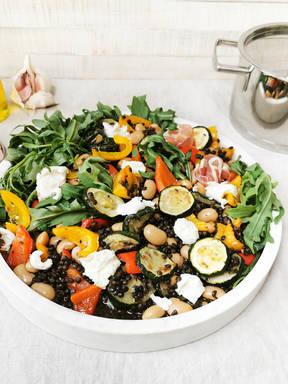 Christian's lentil salad