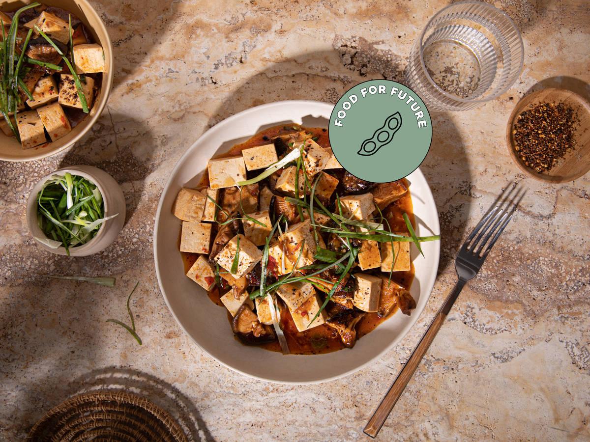 纯素麻婆豆腐