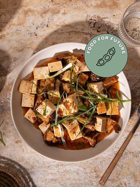 Veganer Mapo-Tofu