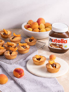 Aprikosenmuffins mit nutella®