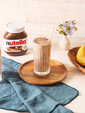Bananen-Icecream-Milkshake mit nutella®