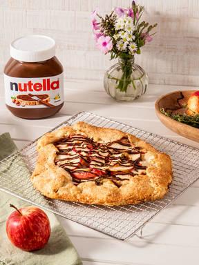 Apfelkuchen mit nutella®