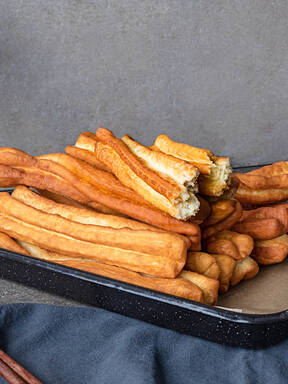 Youtiao (Chinese fried dough sticks)