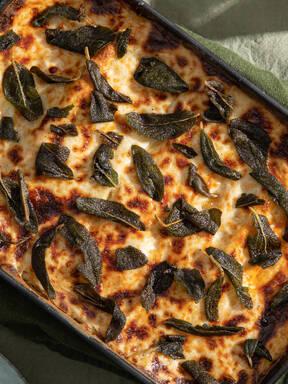 Lasagne mit Salsiccia und Salbei