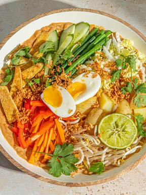 Gado-Gado (indonesischer lauwarmer Salat)