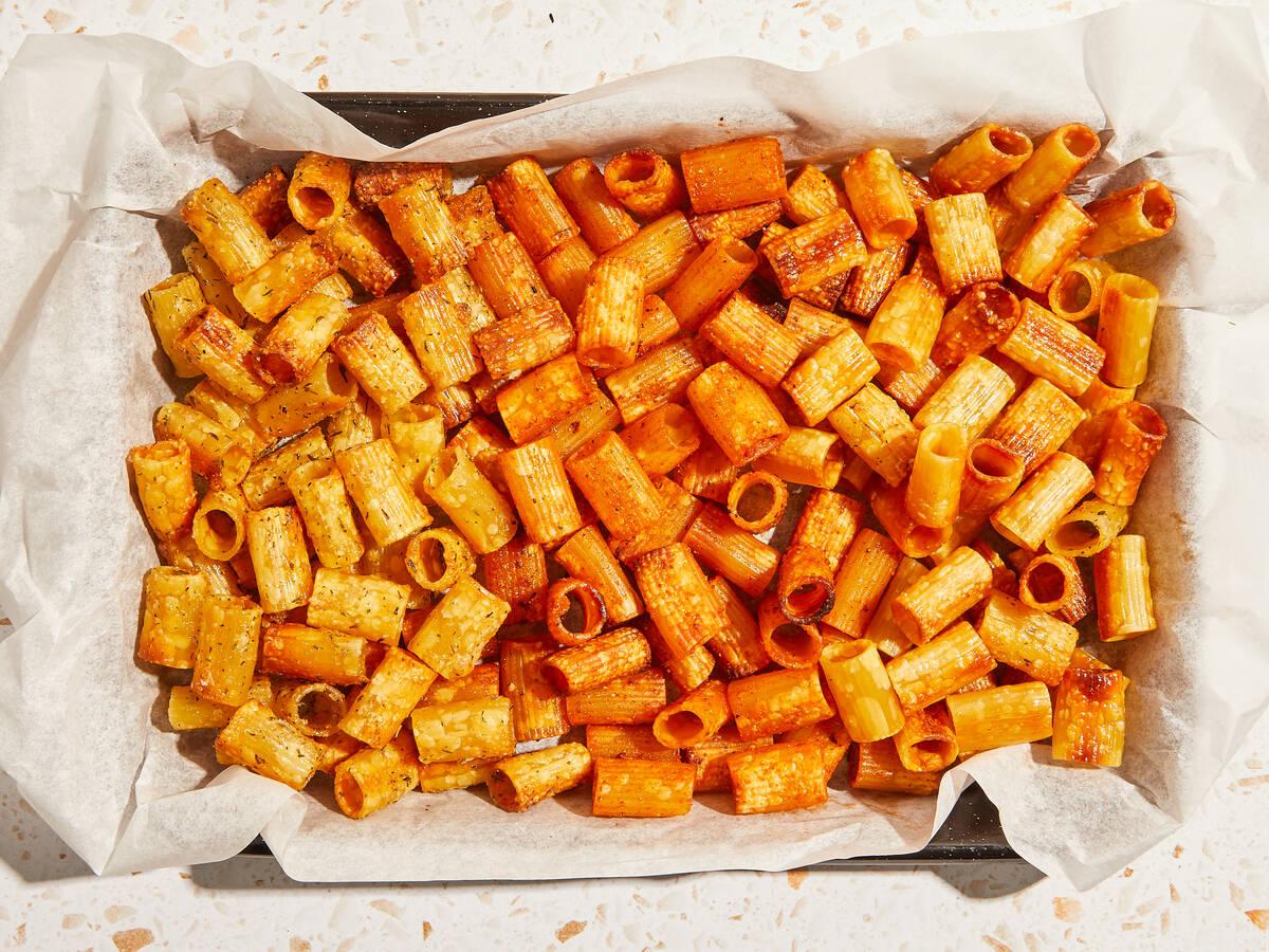 TikTok's viral pasta chips, 3 ways